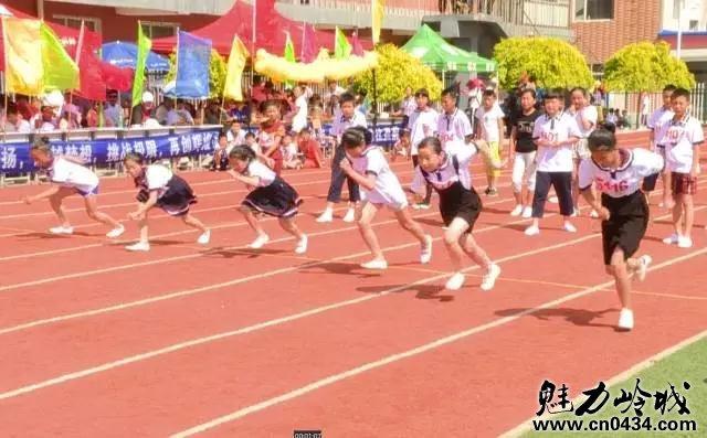 响水镇中心小学校2017年校园趣味运动会